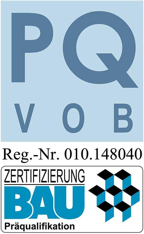 Zertifizierung Bau Präqualifikation (PQ VOB) Gerüstbau Cieslik